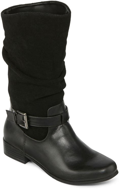 jcpenney st s bay joseph mid calf womens boots