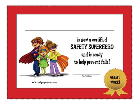 pin printable superhero certificate template on pinterest