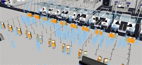 Layout Design And Queue Management | o i consulting airport queues finding an effective