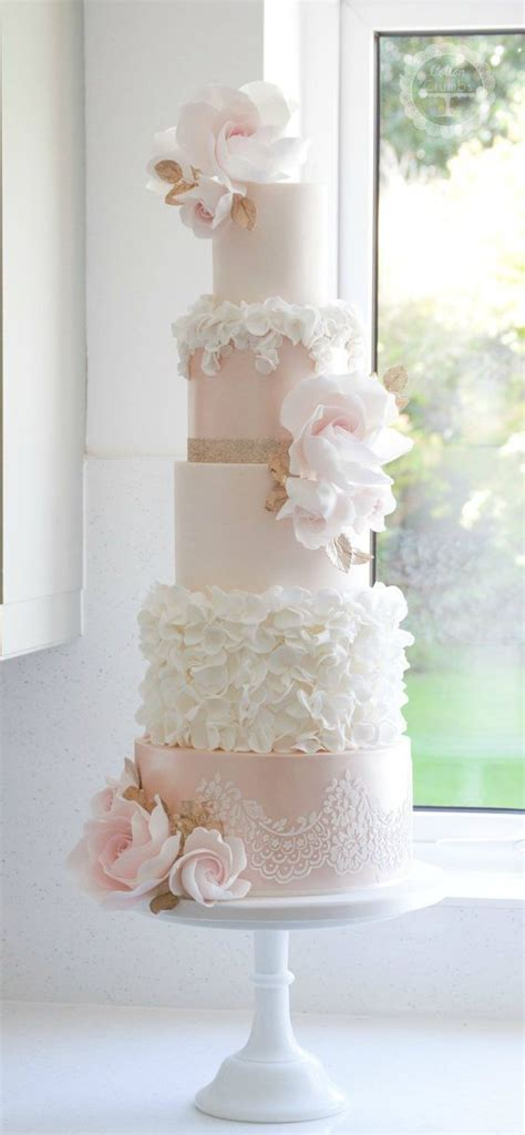 Pink Flower Wedding Cake by Light Pink And White Flower Wedding Cake Smirnoff Foods