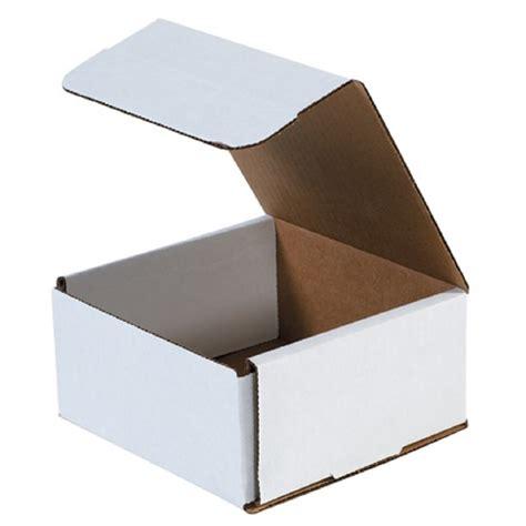 10 X 4 X 4 Box - 10 quot x 4 quot x 3 white corrugated mailers 50 per