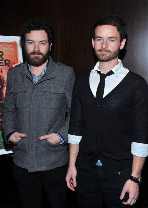 chris sullivan siblings chris masterson and brother danny at bardot hollywood