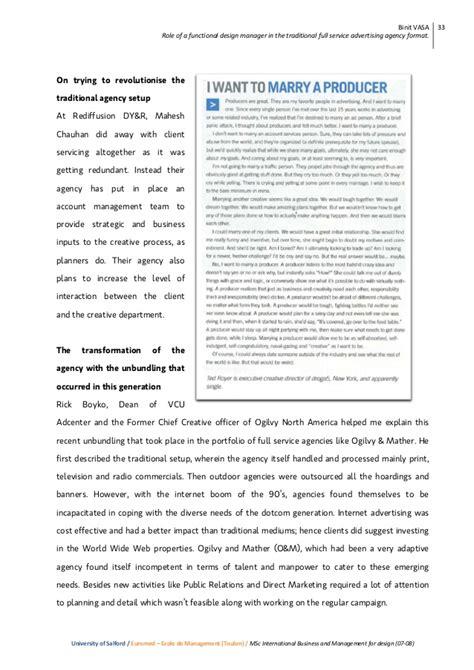 design management thesis binit vasa msc design management dissertation preview