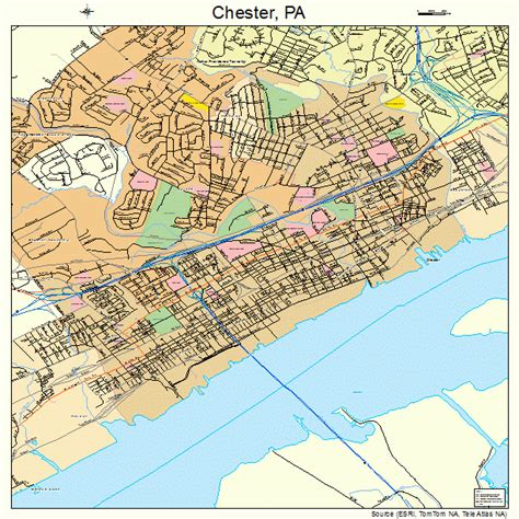 Chester County Pa Search Chester Pennsylvania Map 4213208