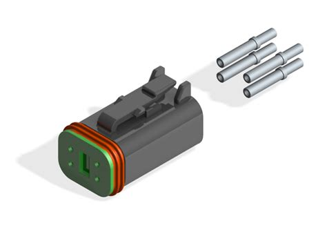 Electrical Kits 06 dt06 4s connector kit