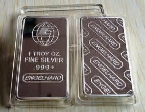 1 troy oz engelhard silver bars bullion bars quot only 20 left quot engelhard 1 troy oz 999