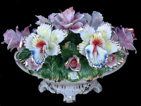 17 best images about capodimonte flower centerpiece on
