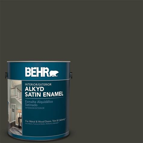 behr paint color broadway behr 1 gal ppu18 20 broadway satin enamel alkyd interior