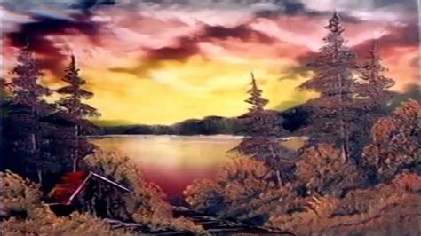 bob ross paintings sunset bob ross of painting episode www imgkid
