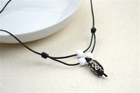 Handmade Necklaces For Guys - handmade jewellery plain leather necklaces for 183 how