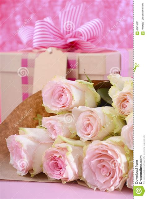 flowers and gifts mothers day gift and flowers stock photo image 69433811