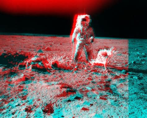 imagenes n 3d apod 2002 july 13 apollo 12 stereo view near surveyor
