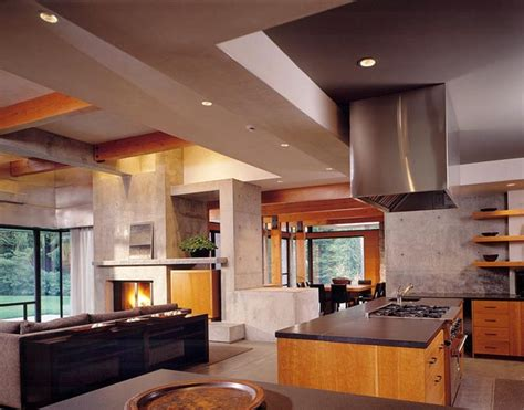 Modern Interior Homes Home Design Interior Northwest Contemporary House Design Ideas Woodway Residence