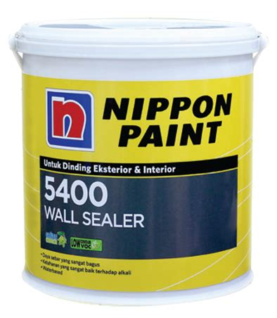 nippon paint 5400 wall sealer rajacat net toko
