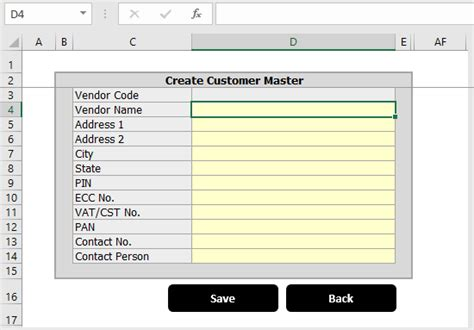 excel format of excise pla register excel invoice template