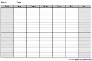 fill in printable monthly calendar free calendar template