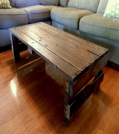 coffee tables made out of pallets pallet ideas recycled