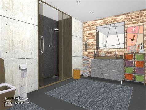 estilo bathroom the sims resource estilo bathroom by artvitalex sims 4 downloads