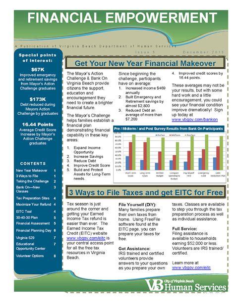 Bank Newsletter Bank On Hton Roads The Presses Newsletter