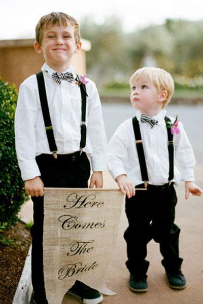 ring bearer ring bearer ideas