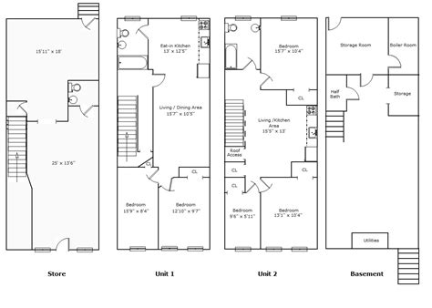 mixed use floor plans mixed use building floor plans find house plans