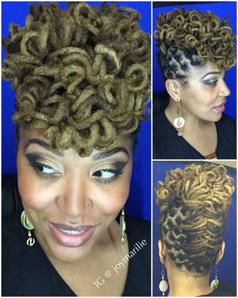 images of hair binding curl style curly loc pompadour my loc styles and experiments