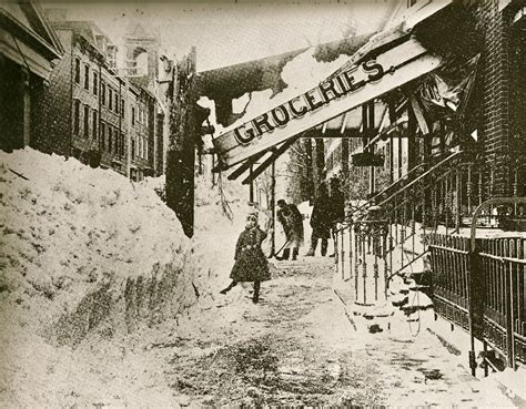 the great blizzard of 1888 snow kidding in 1888