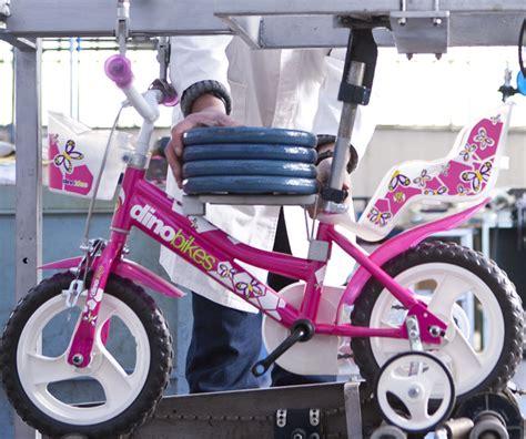 test sicurezza dino bikes sicurezza e design