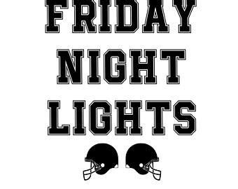 friday night lights pdf friday night lights etsy