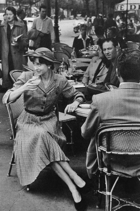 #Paris #1950s | 1950s photos, Paris cafe, Vintage paris