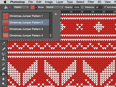 pattern photoshop natale 4 free seamless knitted christmas jumper patterns