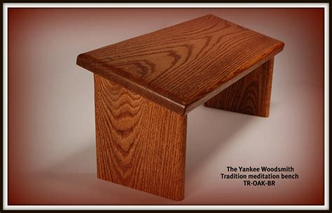 how to make a meditation bench yoga seiza style meditation bench stool oak with a walnut