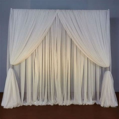 wedding drapery backdrop 17 best ideas about pipe and drape on pinterest simple
