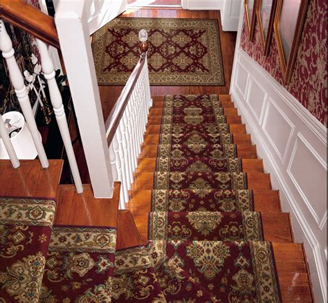 Stair Runner Rug Burgundy Carpet Stair Runner Palace Garden Style