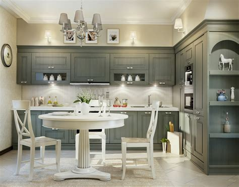 Grey And White Kitchen Cabinets 11 Luxurious Traditional Kitchens