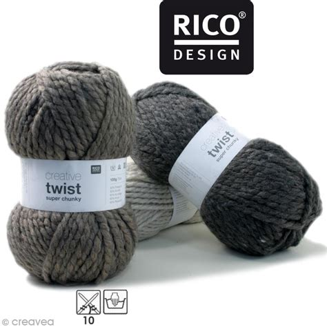 Promo Twist N Pour design creative twist chunky 100 gr