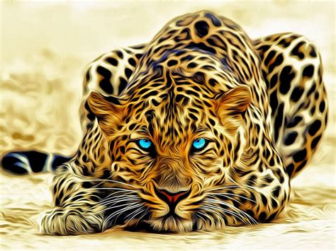 leopardartabstractd wallpaper hd