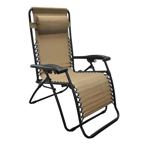 Zero Gravity Recliners On Sale by Oversized Zero Gravity Recliner Beige Caravan Canopy