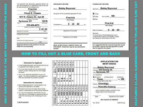 bsa blue card word template apo region 1