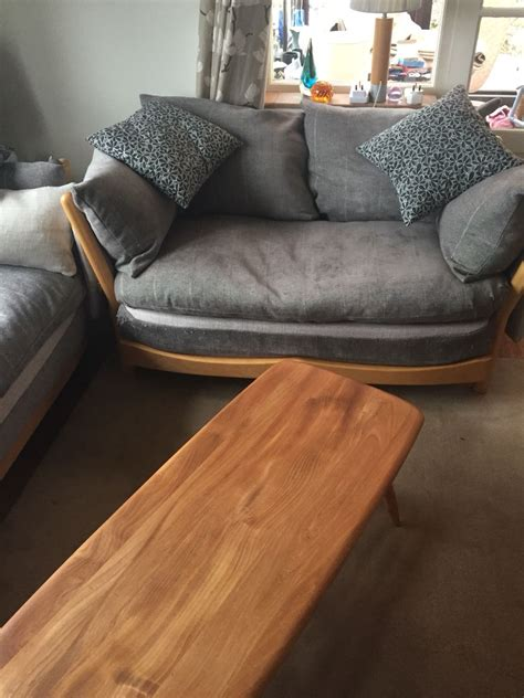 ercol settee second hand ercol sofa for sale in uk 52 second hand ercol sofas