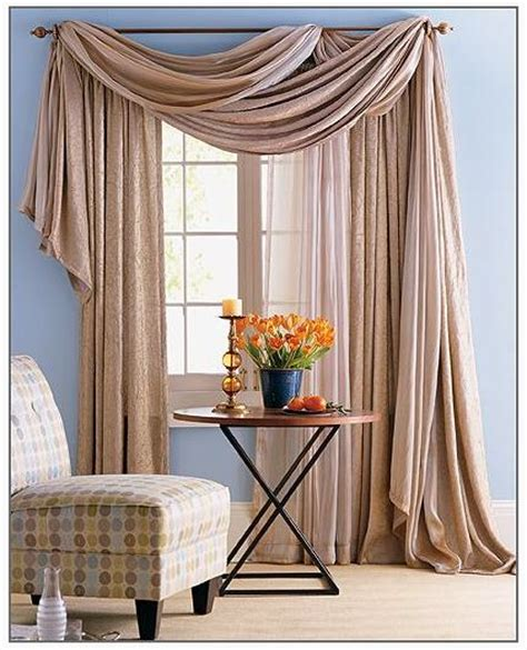 how to drape a sheer curtain over a rod 25 best ideas about drapes curtains on pinterest diy