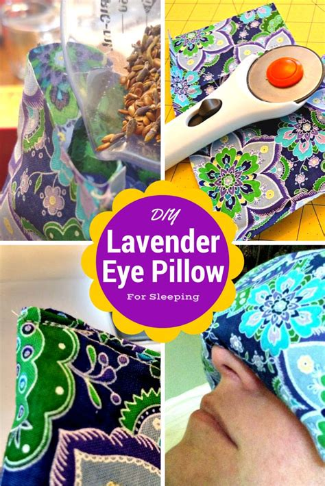 How To Make A Lavender Eye Pillow by You Won T Believe How Easy It Is To Make A Lavender Eye