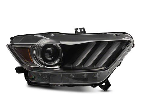 mustang hid lights ford mustang factory replacement hid headlight passenger