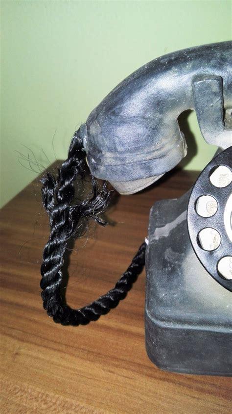 telefon retro dekorace retro telefon 12x12cm vyřazeno dek4606