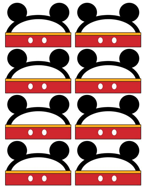 printable mickey mouse name tags birthday party archives paper trail design