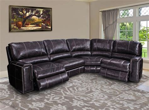 sectional with usb port salinger 4 power reclining sectional with power