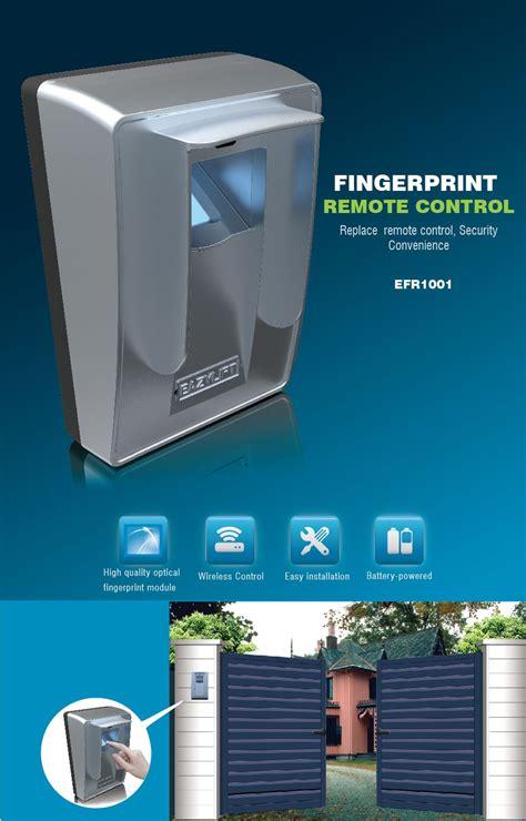 Biometric Garage Door Opener 2016 New Garage Door Access Fingerprint Scanner Sensor