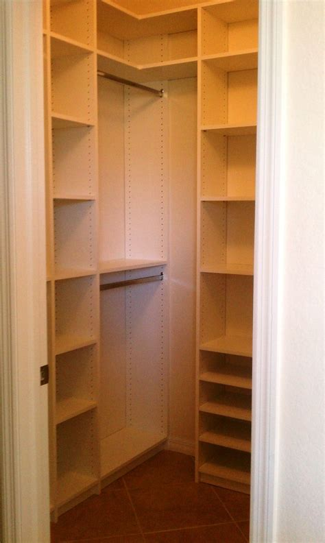 designing a closet popular small walk in closets ideas home design gallery 3557