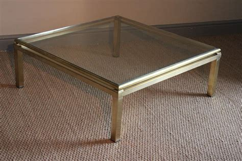 stylish  square brass coffee table coffee  tables