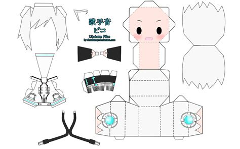 Pola Papercraft Mobil Up utatane piko papercraft by tsunyandere on deviantart